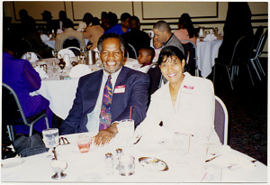 Yvonne and Leonard Robinson, about 2000
