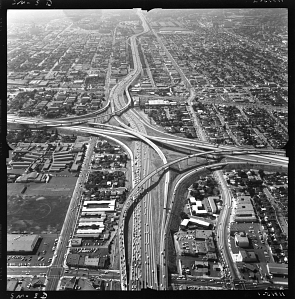 Santa Monica Freeway, 1965