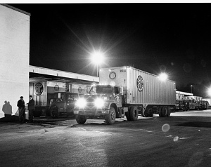 Associated Truck Lines warehouse terminal, Landover, Maryland, 1969
