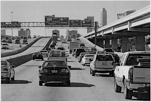 Traffic Congestion on I-10, San Antonio, Texas, 2001