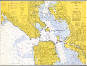 "Chart, ""Entrance to San Francisco Bay,"" 1969"