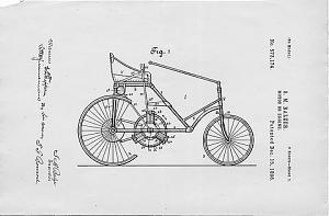 Balzer patent number 573,174