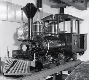 Plantation locomotive, Olomana, built 1883