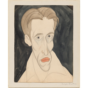 Ralph Barton Self-Portrait