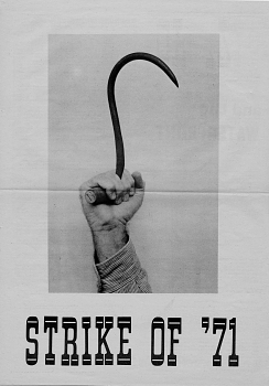 Strike of '71 Poster