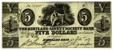 Mormon Currency, 1849
