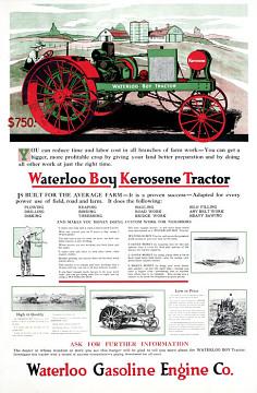 John Deere ad, 1918