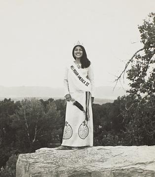 Maxine Henrietta Norris, Miss Indian America, 1973