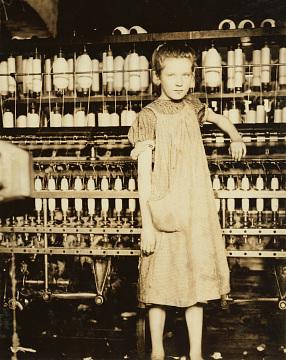 Addie Card, 12 Years Old, Spinner, 1910