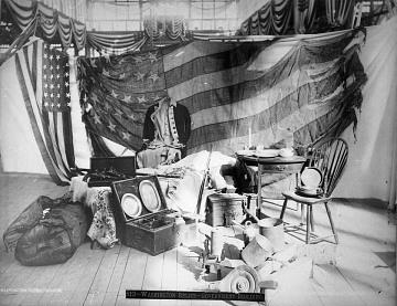 George Washington relicsCentennial Exhibition, Philadelphia, Pennsylvania, 1876
