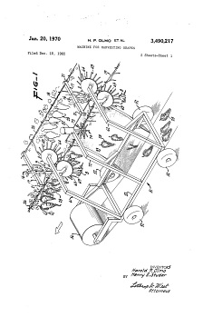 Patent drawing, 1965