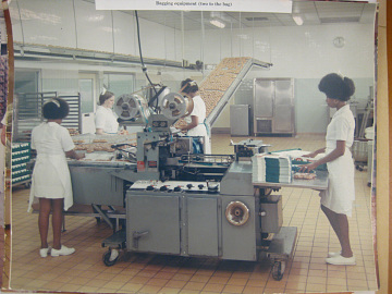 Scaled-up production, around 1970