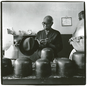 Harold Cotton (1922–2006)Photograph by Harvey Wang