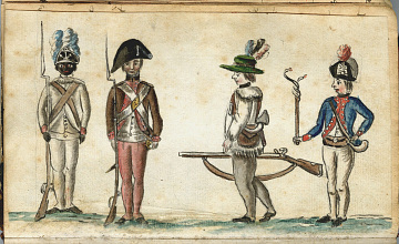 African American troops from Rhode Island, 1781