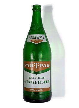 Ginger ale bottle, 1970
