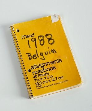 Travel journal, 1988