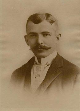 Dorr E. Felt, around 1890