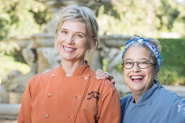 Chefs Mary Sue Milliken and Susan Feniger, co-owners of Border Grill in Los Angeles, 2018