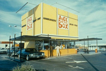 Drive thru and walk up, about 1970