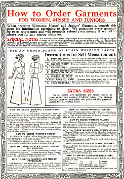 Chicago Mail Order Company catalog, 1913