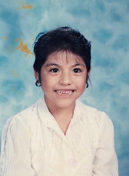 Yadira Montoya's First Grade Picture, 1991