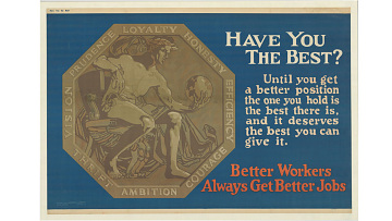 """Have You the Best?"" poster, 1923"