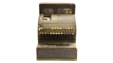Cash register, 1953