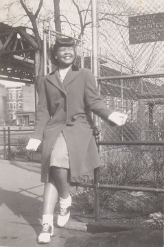 Laura Fitzpatrick, New York City, 1945