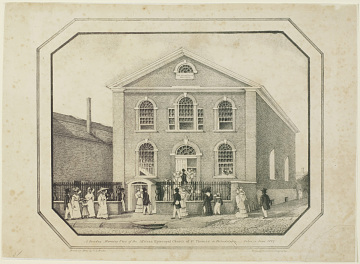 African Episcopal Church of St. Thomas, Founded by the Free African Society in 1792
