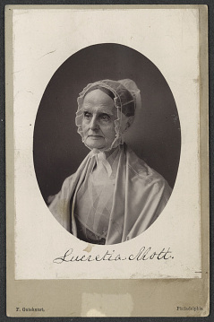 Portrait of Lucretia Mott