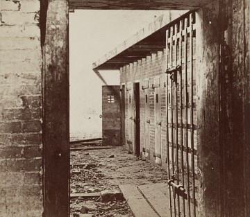 Alexandria, Virginia, slave pen interior, 1861–1869