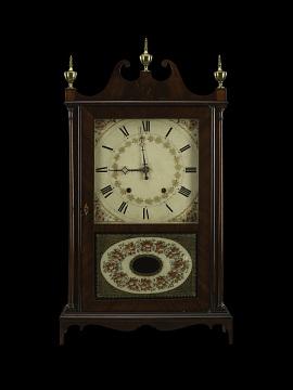 Eli Terry Mantel Clock, around 1824