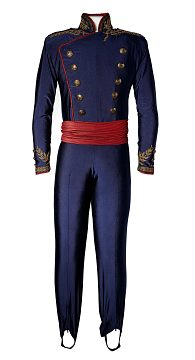 Figure skating costume, 1988, worn by Olympic gold medalist Brian Boitano