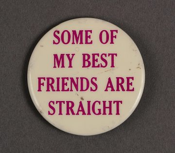 """""""Some of My Best Friends are Straight"""""""