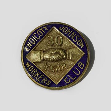 30-year service award, 1960
