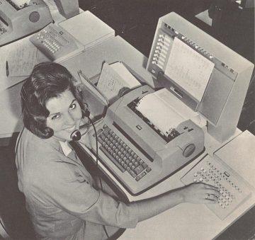 PANAMAC in use, 1966