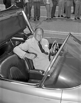 Harley Earl, about 1951