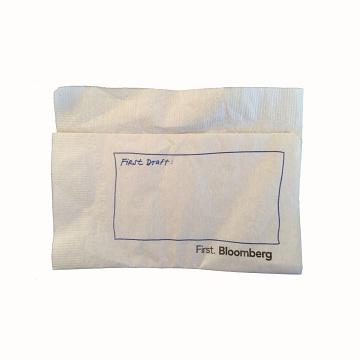 Bloomberg napkin, 2013