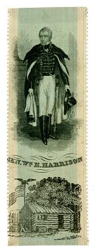 Ribbon, General William Henry Harrison