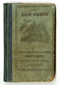 The Log Cabin Song Book, 1840
