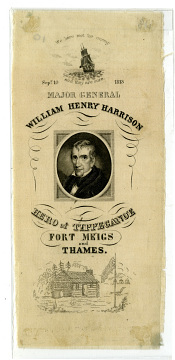 Ribbon, William Henry Harrison