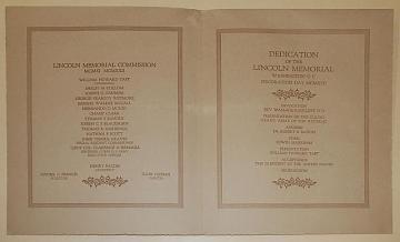 Dedication Ceremony Programs