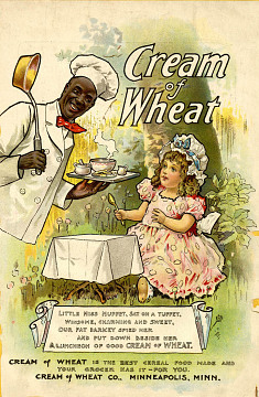 Advertisement for Cream of Wheat, 1900