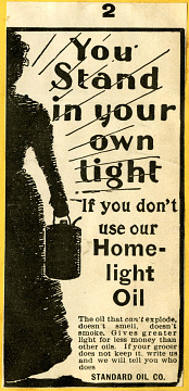 Standard Oil kerosene advertisement, 1899