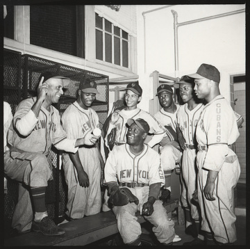 Players for the New York Cubans Negro Leagues team, 1930–1940