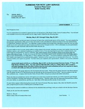 Jury notice, 2014
