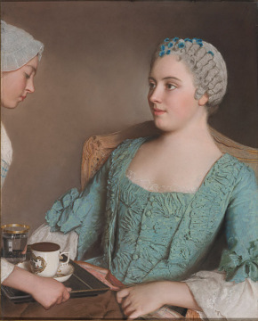 Jean-Étienne Liotard, The Breakfast, mid-1700s