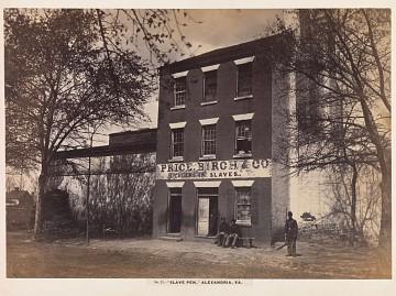 Alexandria, Virginia, slave pen exterior, 1861–1865