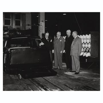 Pilot assembly line, 1948