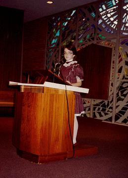 Sarah Leavitt's Bat Mitzvah, Madison, Wisconsin, 1983